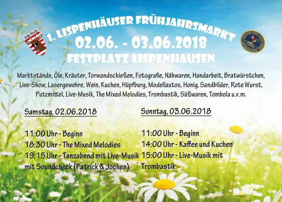 1. Lispenhäuser Frühjahrsmarkt